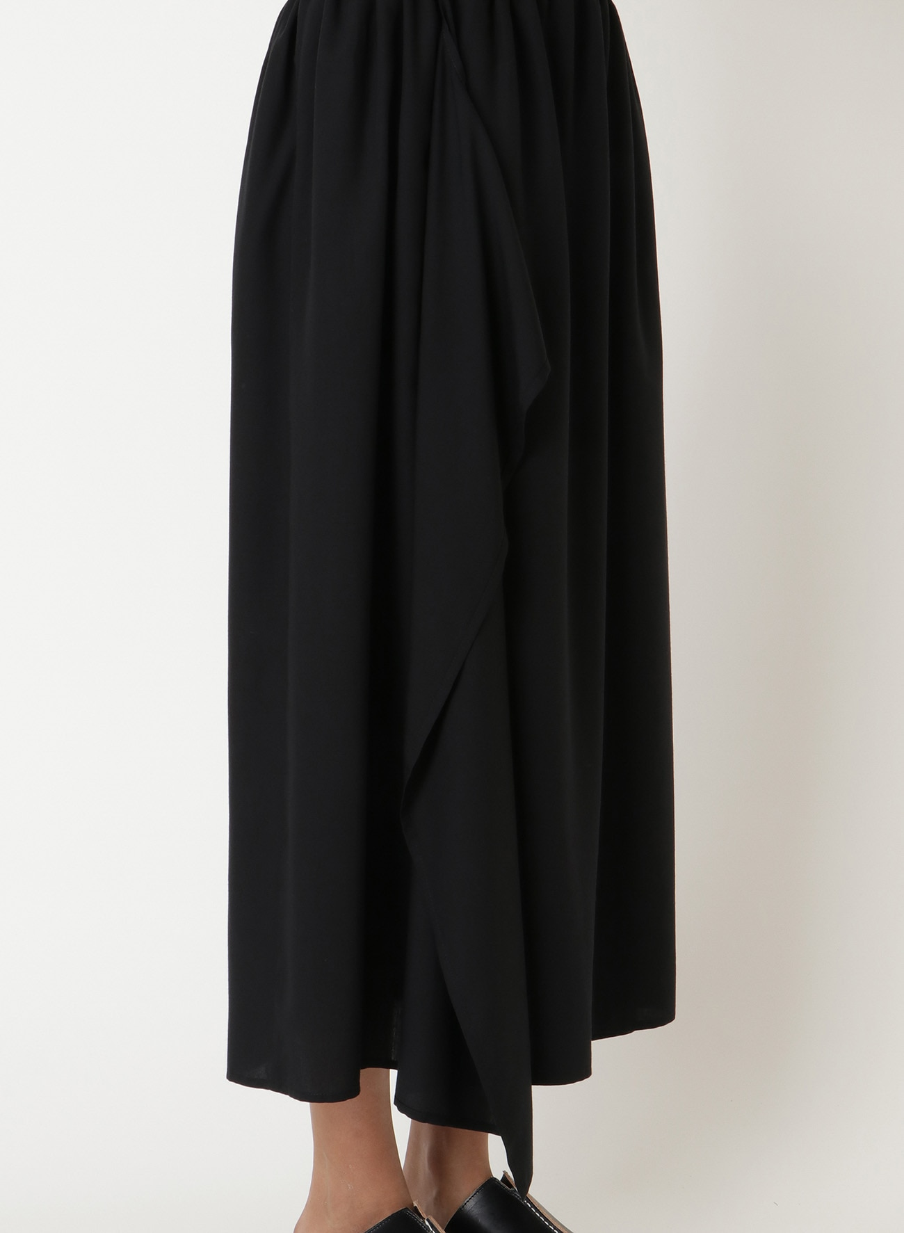 Te/POPLIN WRAPPED G.SKIRT