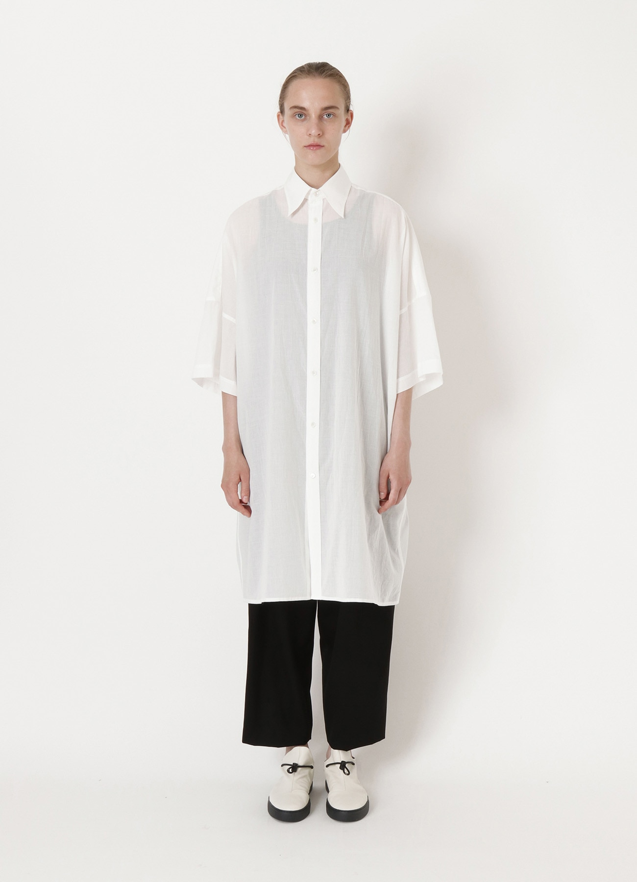 COTTON LAWN BIG SHIRT