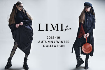 【New Arrivals】LIMI feu 2018AW Collection
