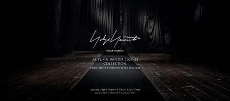 [COLLECTION MOVIE] Yohji Yamamoto POUR HOMME AW20-21